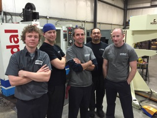 Our clinching build team